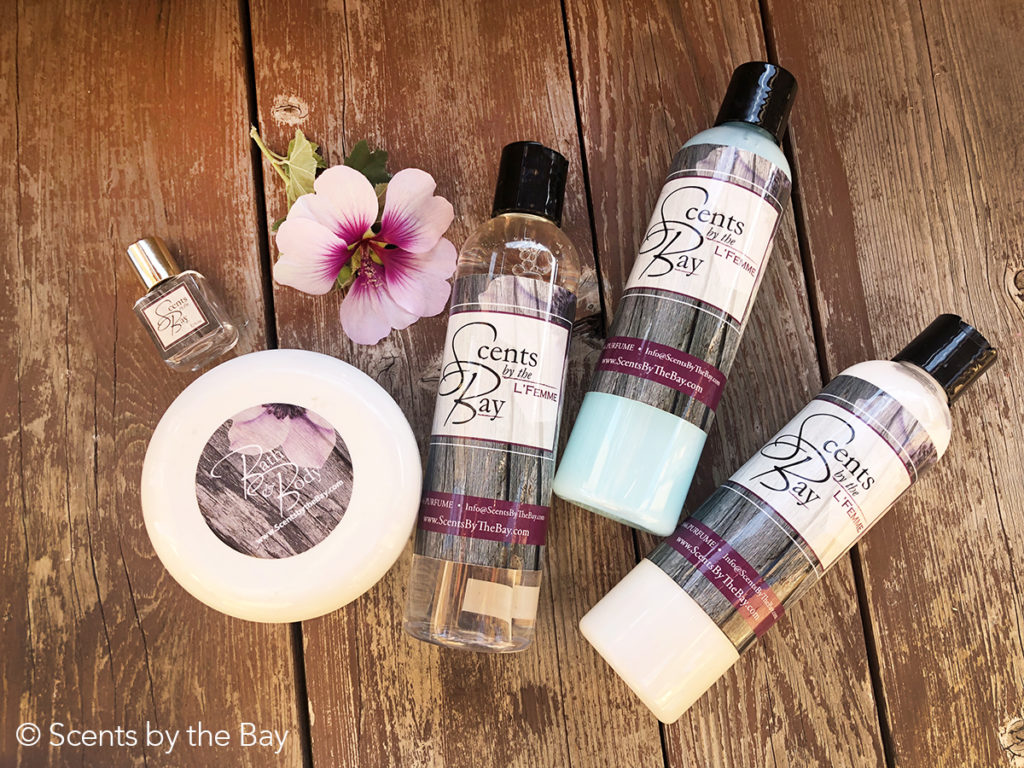 Designer Perfume + Bath & Body Set