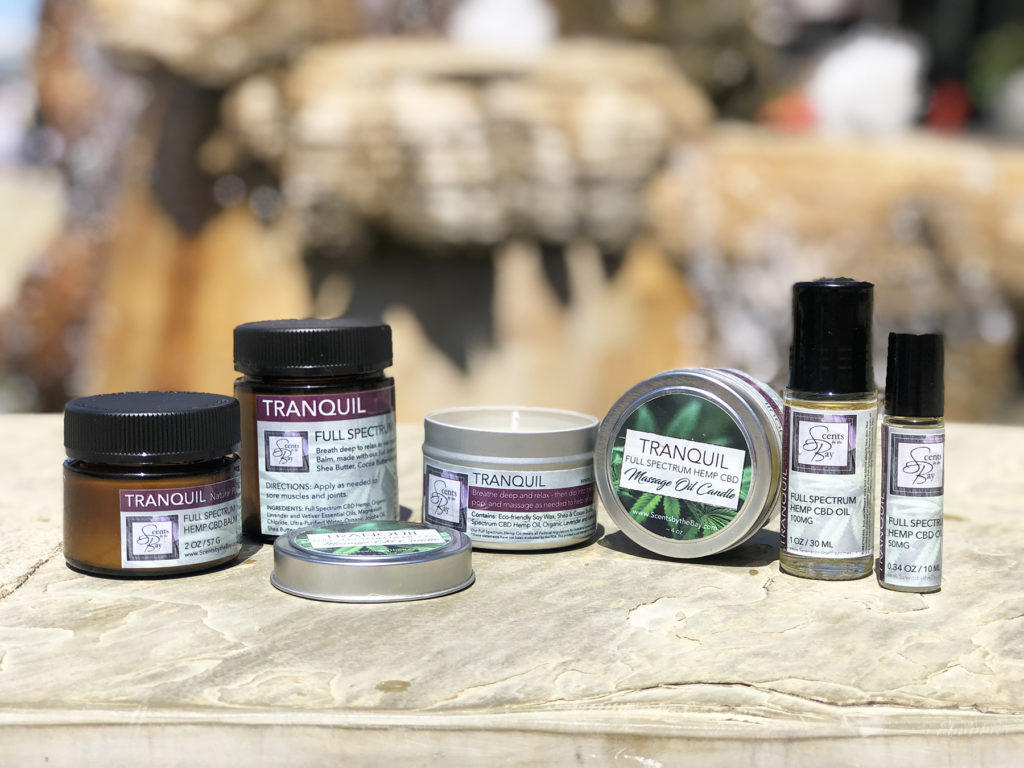 CBD Massage & Bath Oil